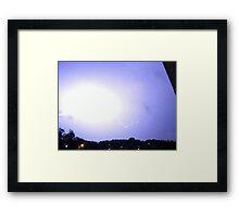 Lightning 2012 Collection 300 Framed Print
