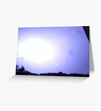 Lightning 2012 Collection 300 Greeting Card