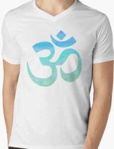 Ocean Ohm Mens V-Neck T-Shirt