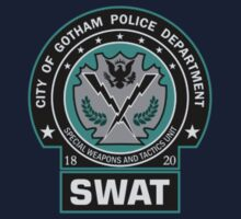 Gotham City Police SWAT Unit - Pocket Logo by Christopher Bunye