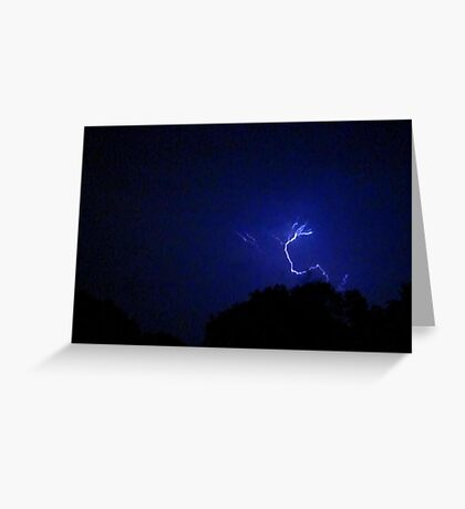Lightning 2012 Collection 305 Greeting Card