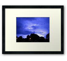 Lightning 2012 Collection 311 Framed Print