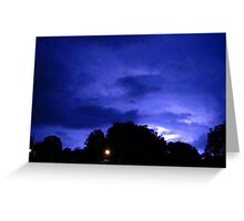 Lightning 2012 Collection 312 Greeting Card