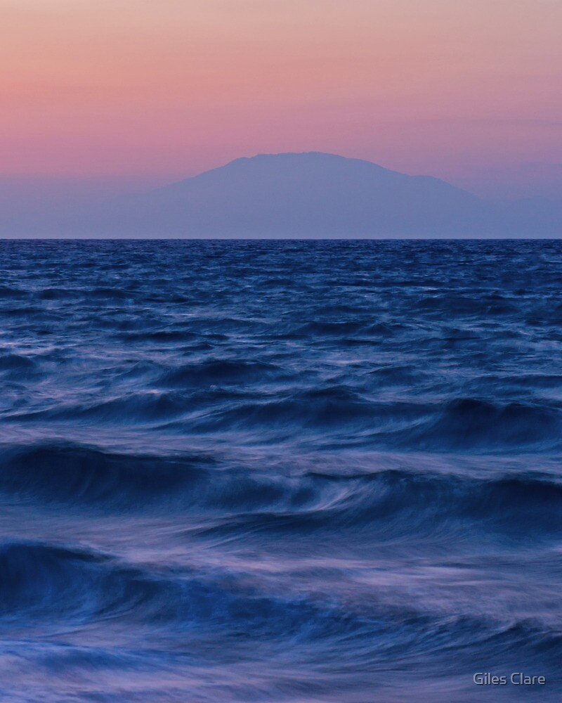 Kefalonian Dusk, Greece by Giles Clare