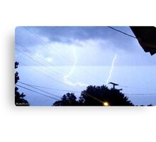 Lightning 2012 Collection 323 Canvas Print