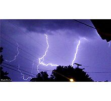 Lightning 2012 Collection 324 Photographic Print