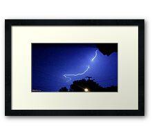 Lightning 2012 Collection 325 Framed Print