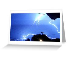 Lightning 2012 Collection 326 Greeting Card