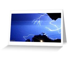 Lightning 2012 Collection 327 Greeting Card