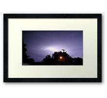 Lightning 2012 Collection 329 Framed Print