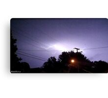 Lightning 2012 Collection 329 Canvas Print