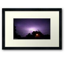 Lightning 2012 Collection 330 Framed Print