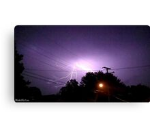 Lightning 2012 Collection 330 Canvas Print