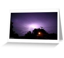 Lightning 2012 Collection 330 Greeting Card