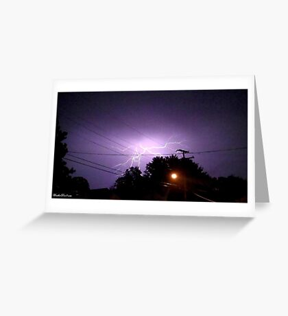 Lightning 2012 Collection 331 Greeting Card