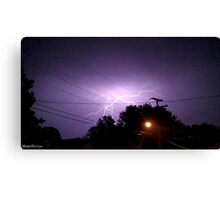 Lightning 2012 Collection 332 Canvas Print