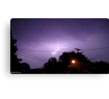 Lightning 2012 Collection 334 Canvas Print
