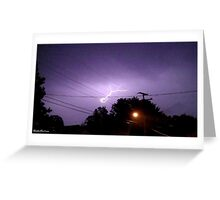 Lightning 2012 Collection 334 Greeting Card