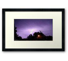 Lightning 2012 Collection 335 Framed Print