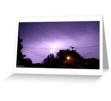 Lightning 2012 Collection 335 Greeting Card