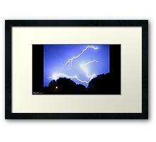 Lightning 2012 Collection 336 Framed Print