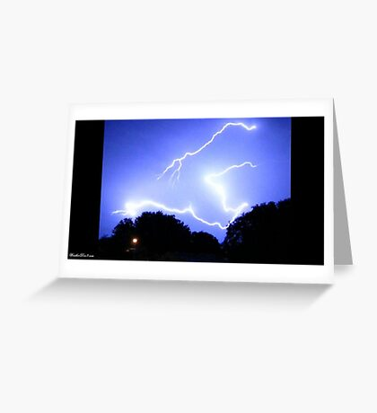 Lightning 2012 Collection 336 Greeting Card