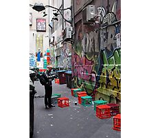 Crates or Graffiti…which shot? Photographic Print