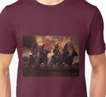 Four French Cuirassiers Unisex T-Shirt