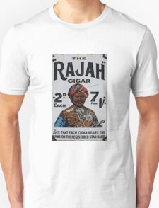 Vintage looking Rajah Cigar T-Shirt