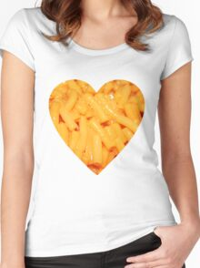 Kraft Dinner Women's Fitted Scoop T-Shirt