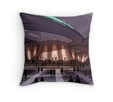 Forgetting Beethoven - Music Fall Future Throw Pillow