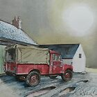 An 'august' Landrover by JohnLowerson