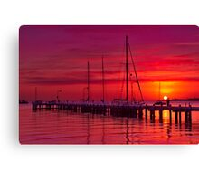 """Nautical Dawn"" Canvas Print"