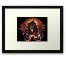 Scar Lion King Framed Print
