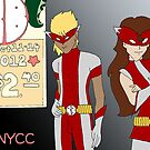 NYCC Competition Entry - RedBoy and BubbleGirl by IanPeriwinkle