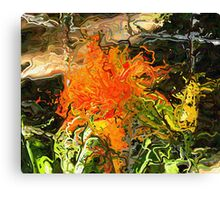 070212 020 1 expressionist flower Canvas Print