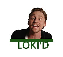 LOKI'D (Colour) Photographic Print