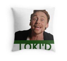 LOKI'D (Colour) Throw Pillow