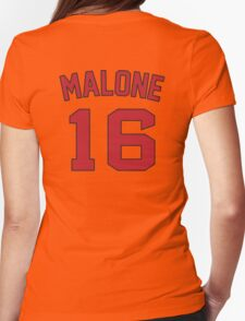 malone no 16 Womens Fitted T-Shirt