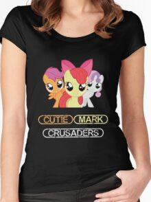 Cutie Mark Crusaders Women's Fitted Scoop T-Shirt