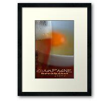 Champagne Breakfast © Vicki Ferrari Framed Print