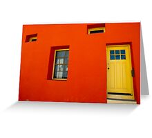 Barrio Viejo in Tucson, Arizona Greeting Card