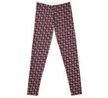 Tessellating Squid - Orange and Blue Leggings