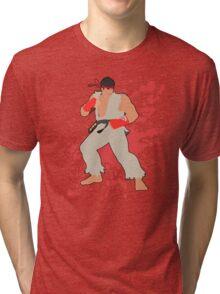 Ryu - Super Smash Bros Tri-blend T-Shirt