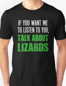 Funny Pet Liazrds T Shirt T-Shirt