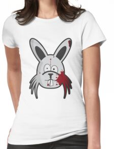 Zombie Rabbit Womens Fitted T-Shirt