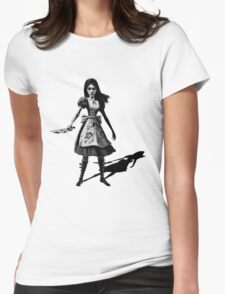 Alice Madness Returns Womens Fitted T-Shirt