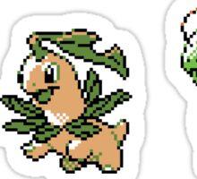 Chikorita Evolutions Sticker