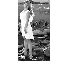 Angel in Black and White Photographic Print