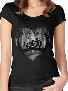 Shadow Fight Women's Fitted Scoop T-Shirt